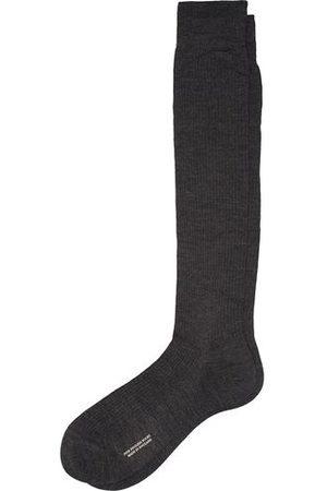 Pantherella Miehet Sukat - Naish Long Merino/Nylon Sock Charcoal