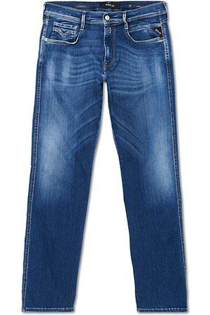 Replay Anbass Hyperflex Bio Jeans Medium Blue