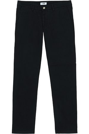 NN.07 Miehet Chinot - Marco Slim Fit Stretch Chinos Black