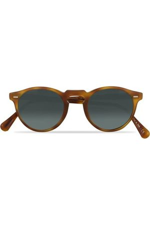 Oliver Peoples Miehet Aurinkolasit - Gregory Peck Sunglasses Semi Matte/Indigo Photochromic