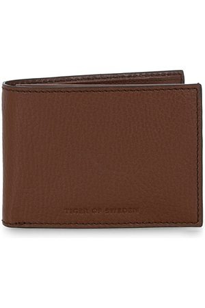 Tiger of Sweden Wrene Grained Leather Wallet Brown