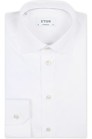 Eton Miehet Kauluspaidat - Contemporary Fit Shirt White
