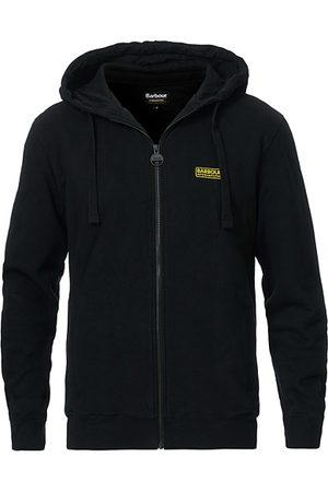 Barbour Miehet Hupparit - Essential Full Zip Hoodie Black