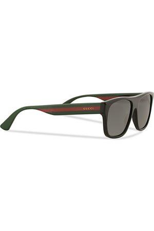 Gucci Miehet Aurinkolasit - GG0341S Sunglasses Black
