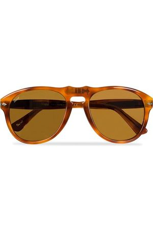 Persol Miehet Aurinkolasit - PO0649 Sunglasses Light Havana/Crystal Brown
