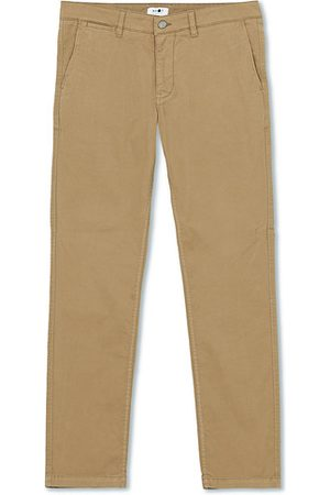NN.07 Miehet Chinot - Marco Slim Fit Stretch Chinos Green Stone