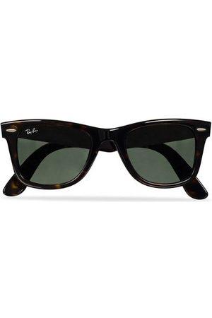 Ray-Ban Miehet Aurinkolasit - Original Wayfarer Sunglasses Tortoise/Crystal Green