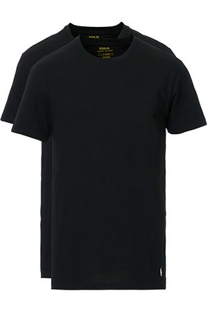Polo Ralph Lauren Miehet T-paidat - 2-Pack T-Shirt Crew Neck Black