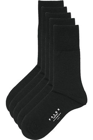 Falke 5-Pack Airport Socks Black