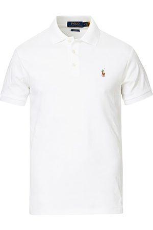 Polo Ralph Lauren Miehet Pikee - Slim Fit Pima Cotton Polo White