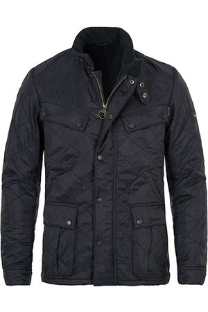 Barbour Miehet Päällystakit - Ariel Polarquilt International Navy