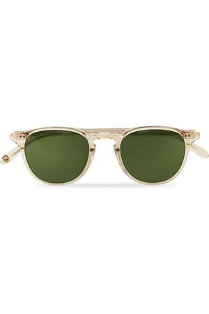 GARRETT LEIGHT Miehet Aurinkolasit - Hampton 46 Sunglasses Pure Green