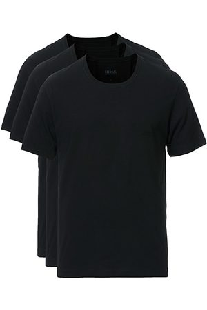 HUGO BOSS Miehet T-paidat - 3-Pack Crew Neck T-Shirt Black