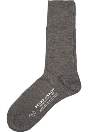 Falke Miehet Sukat - Airport Socks Grey Melange