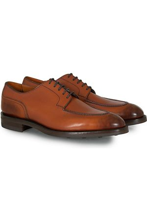 EDWARD GREEN Miehet Loaferit - Dover Split Toe Derby Chestnut