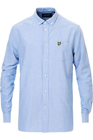 Lyle & Scott Miehet Bisnes - Lightweight Oxford Shirt Riviera Blue