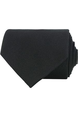 Amanda Christensen Plain Classic Tie 8 cm Black
