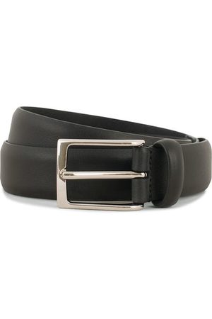 Anderson's Miehet Vyöt - Double Nappa Calf 3 cm Belt Black