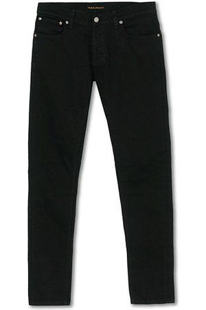 Nudie Miehet Skinny - Tight Terry Organic Jeans Ever Black