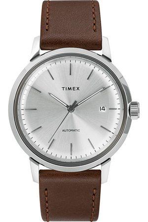 Timex Miehet Kellot - Marlin Automatic 40mm Silver Dial