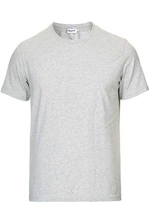 Filippa K Miehet T-paidat - Soft Lycra Tee Light Grey Melange