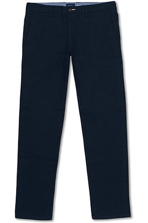 GANT Miehet Chinot - Slim Fit Tech Prep Chino Marine