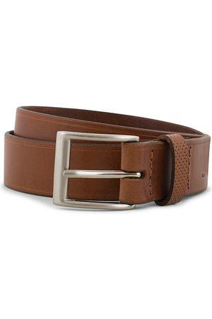 Tarnsjo Garveri Miehet Vyöt - Leather Belt 3cm Cognac