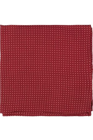 Amanda Christensen Handkerchief Dot Silk Wine Red