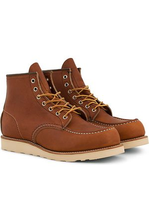 Red Wing Moc Toe Boot Oro Legacy Leather