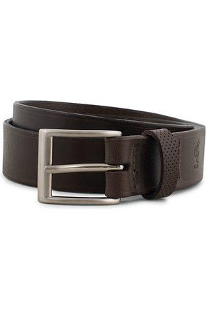Tarnsjo Garveri Miehet Vyöt - Leather Belt 3cm Dark Brown
