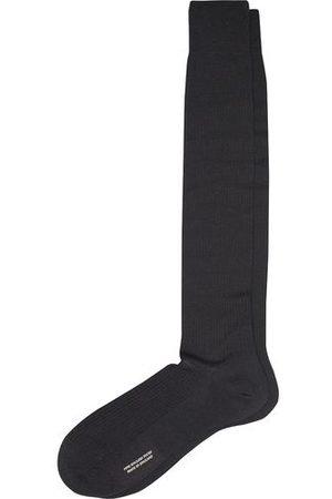 Pantherella Miehet Sukat - Naish Long Merino/Nylon Sock Black
