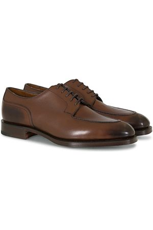 EDWARD GREEN Miehet Loaferit - Dover Split Toe Dark Oak Calf
