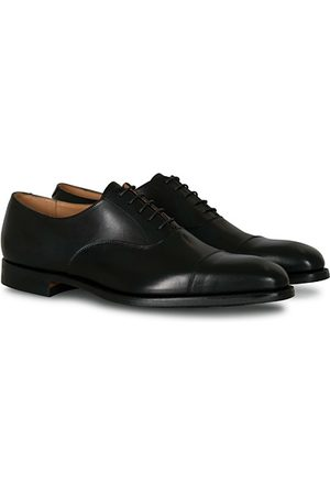 Crockett & Jones Miehet Loaferit - Hallam Oxford City Sole E Black Calf