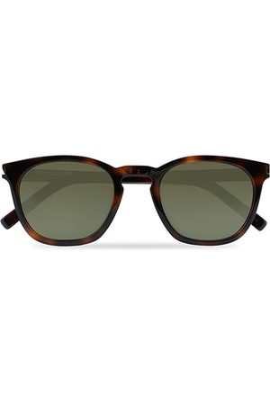 Saint Laurent SL 28 Sunglasses Havana/Green