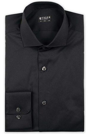 Tiger of Sweden Miehet Kauluspaidat - Farell 5 Stretch Shirt Black