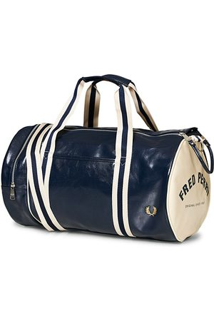 Fred Perry Miehet Laukut - Classic Barrel Bag Navy