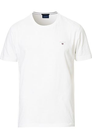 GANT Miehet T-paidat - The Original Solid Tee White