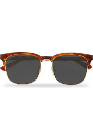 Gucci Miehet Aurinkolasit - GG0382S Sunglasses Havana/Blue