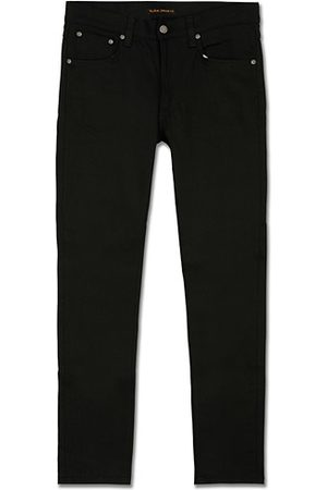 Nudie Jeans Miehet Slim Fit - Lean Dean Organic Slim Fit Jeans Dry Ever Black
