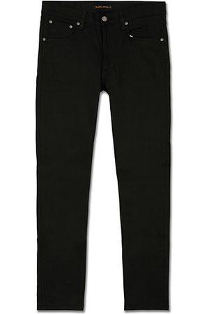 Nudie Miehet Slim Fit - Lean Dean Organic Slim Fit Jeans Dry Ever Black