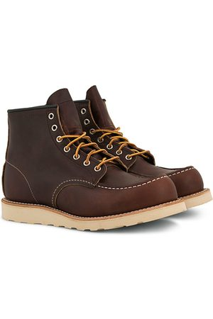 Red Wing Miehet Nilkkurit - Moc Toe Boot Briar Oil Slick Leather