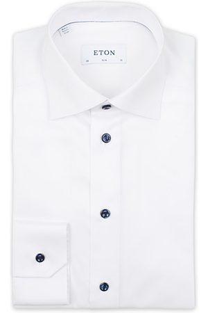 Eton Slim Fit Signature Twill Shirt White