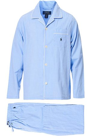 Ralph Lauren Pyjama Set Mini Gingham Blue