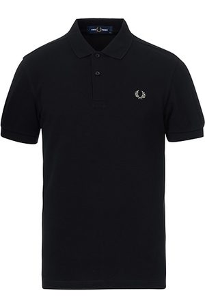 Fred Perry Slim Fit Plain Polo Black