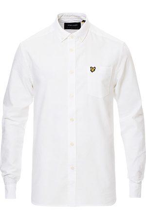 Lyle & Scott Miehet Bisnes - Lightweight Oxford Shirt White