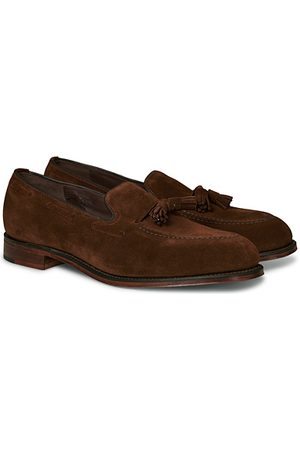 Loake Miehet Loaferit - Russell Tassel Loafer Polo Oiled Suede