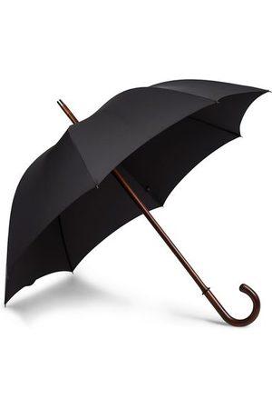 Fox Umbrellas Miehet Sadevaatteet - Polished Cherrywood Solid Umbrella Black
