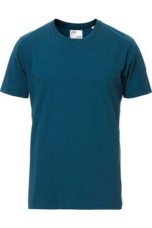 Colorful Standard Miehet T-paidat - Classic Organic T-Shirt Ocean Green