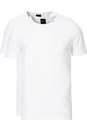 HUGO BOSS Miehet T-paidat - 2-Pack Crew Neck Slim Fit Tee White
