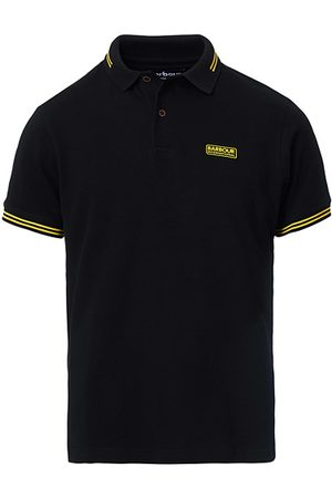 Barbour Miehet Pikee - Essential Tipped Polo Black